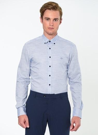 Beymen Business Klasik Uzun Kollu Gömlek Lacivert